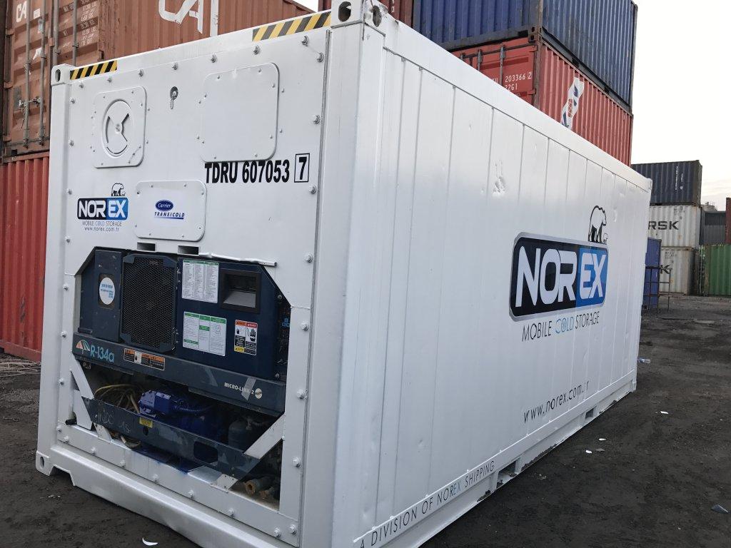 20 DC Norex Cold Store Soğuk Hava Konteyneri