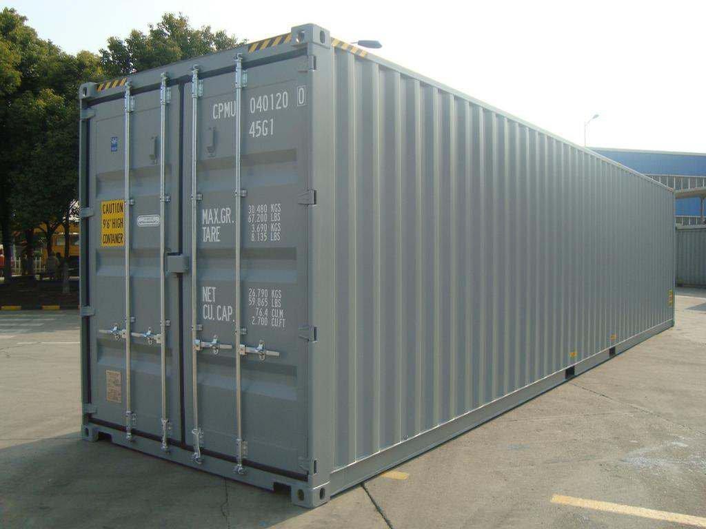 40 HC Standart ISO Yük Konteyneri