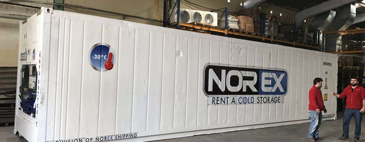 Lider Gıda Toptancısı firmaya 40 hc Norex ColdStore teslimatı yapıldı.