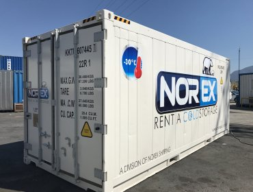 20 DC Norex Cold Storage Reefer Container