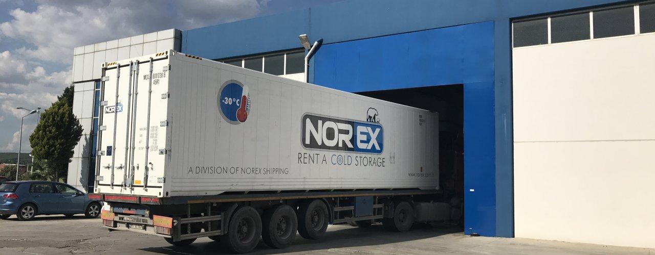 Buz Üretimi Norex Cold Storage Soğuk Hava Konteynerleri ile Daha Kolay