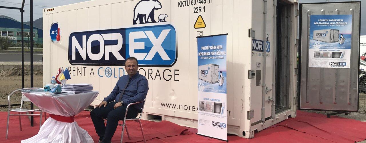 Norex Cold Store olarak 7. si Düzenlenen Fethiye Agritech Tarım Fuarına Katıldık