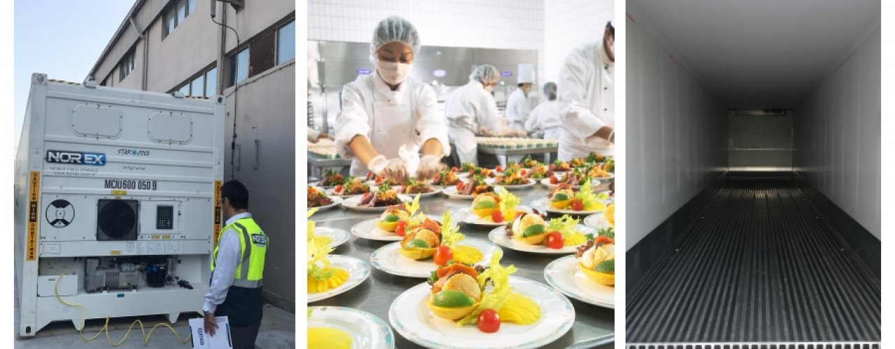 Sektöründe Lider Catering Firması Mobil Soğuk Hava Depomuzu Kiraladı