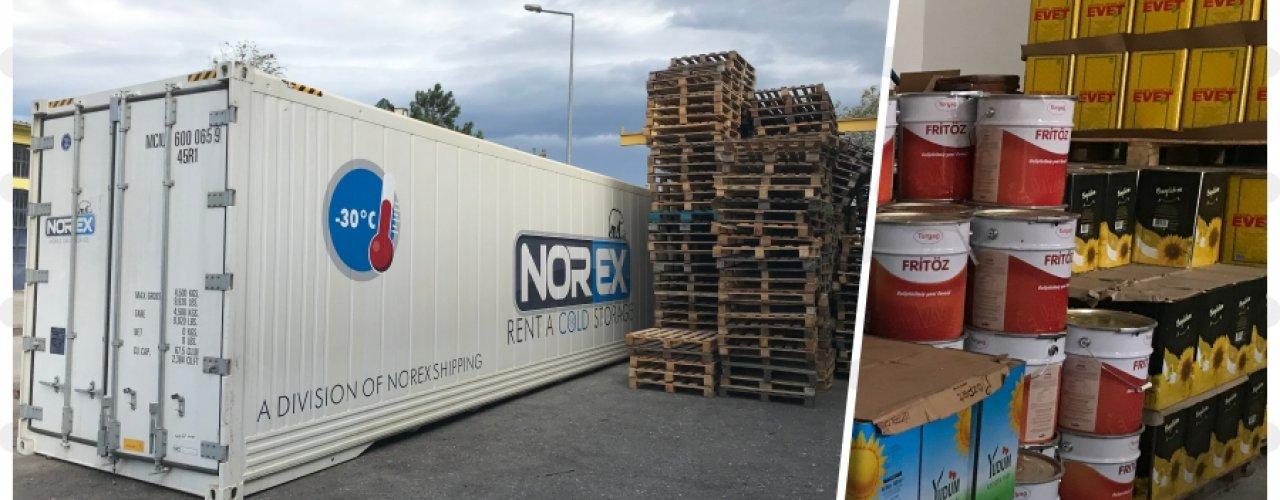 İç Anadoluda yerleşik Gıda Toptancısı Müşterimiz Norex Mobil Soğuk Hava Depomuzu Uzun Dönem Kiraladı