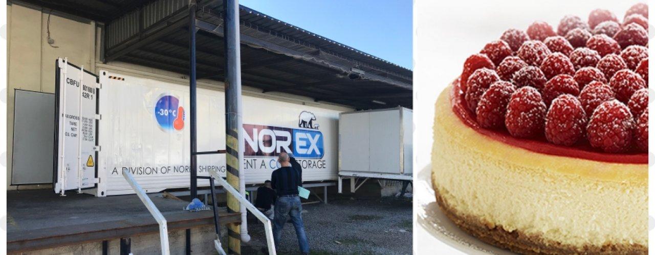 Pasta ve Kek Üretimde Mobil Soğuk Hava Depolarımız ile çözüm üretiyoruz