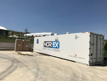 40 HC Norex Cold Storage Reefer Container