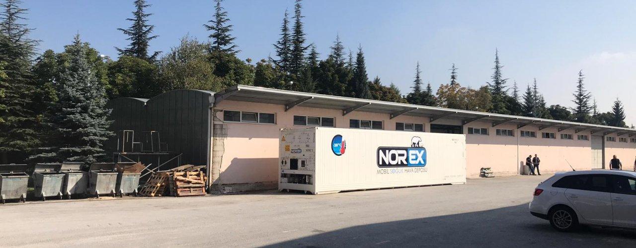 Anadolu Üniversitesi Yemekhanesi ' ne  Mobil Soğuk Hava Depomuz Kiralandı