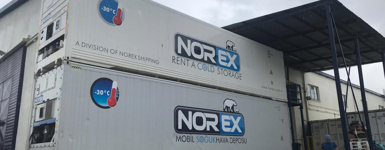 Starbucks ve Cafe Nero  Kekleri Norex Mobil Soğuk Hava Deposunda depolanıyor